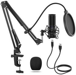 Microphone USB à condensateur Tonor Q9