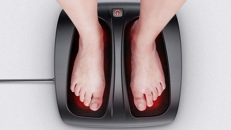 Comparatif meilleur appareil de massage pour les pieds de l'année