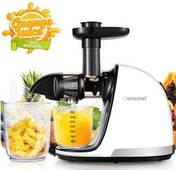 Avis AMZCHEF Extracteur de jus de fruits et de légumes
