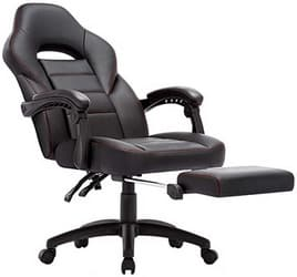 Chaise de bureau gamer avec repose-pied IntimaTe WM Heart