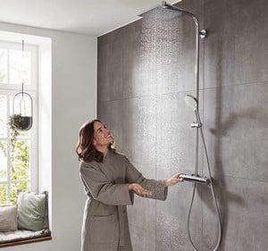 colonne de douche Hansgrohe Showerpipe Crometta E 240