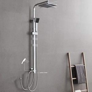 colonne de douche chromée Auralum