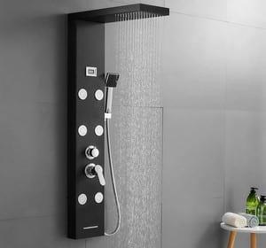 colonne de douche hydromassante Auralum