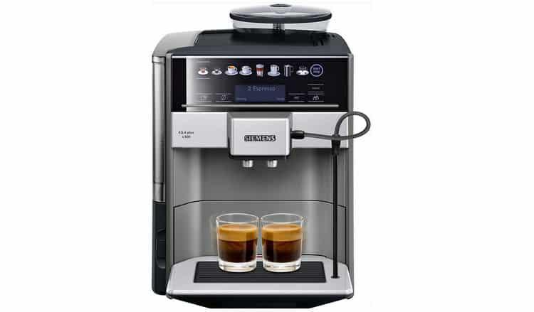Avis machine à café automatique avec écran tactile Siemens EQ.6 Plus s500 TE655203RW