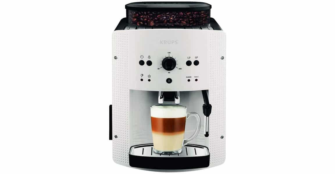 Avis sur la machine à café automatique avec buse vapeur Krups EA8105