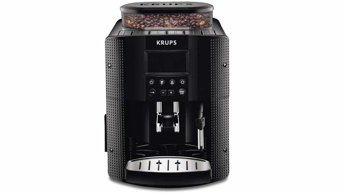 Avis sur la cafetière automatique 15 bars Krups EA815070