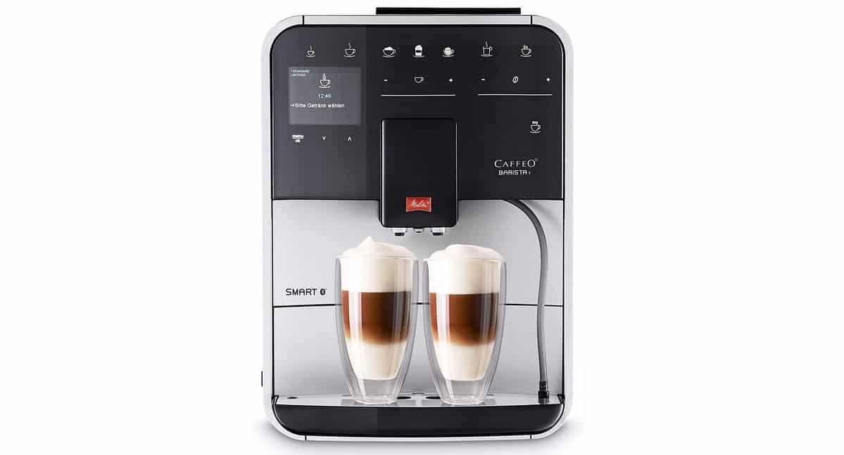 Test et avis sur la cafetière à grains connectée Melitta Barista T Smart F831-101