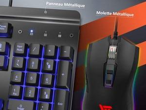 Meilleur pack clavier et souris gamer