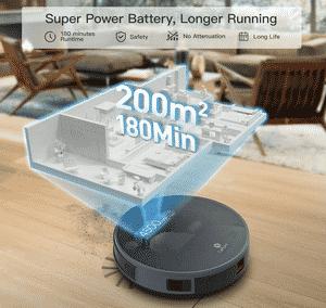 Test et avis sur l'aspirateur robot Lefant-M571