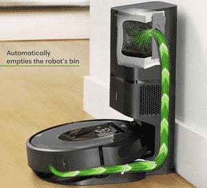 Test et avis sur l'aspirateur robot iRobot Roomba i7556
