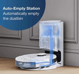 Test et avis sur l'aspirateur robot laveur Ecovacs Deebot N8+