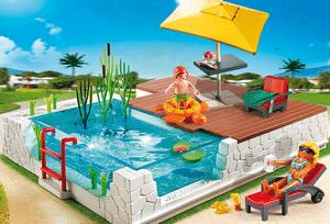 Test et avis sur la piscine avec terrasse Playmobil 5575