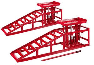 Test et avis sur la rampe de levage hydraulique Arebos