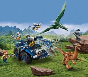 Test et avis sur le Lego Jurassic World L'évasion du Galliminus et du Ptéranod 75940
