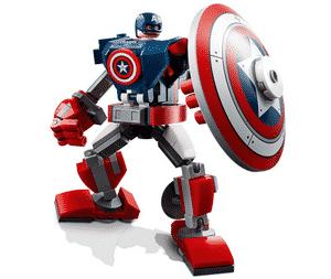 Test et avis sur le Lego Marvel Captain America 76168