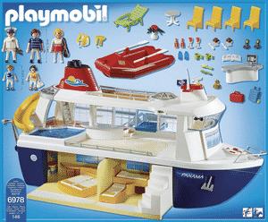 Test et avis sur le bateau de croisière Playmobil 6978