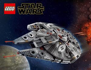 Test et avis sur le vaisseau Lego Star Wars Faucon Millenium 7525