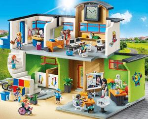 Test et avis sur la grande école avec installation Playmobil City Life 9453