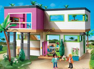 Test et avis sur la maison moderne Playmobil 5574