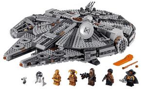 Test et avis sur le Faucon Millenium Lego 75257