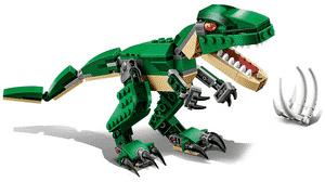Test et avis sur le Lego Creator Le dinosaure féroce 31058