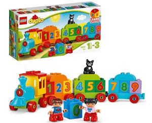 Test et avis sur le Lego Duplo Le train des chiffres 10847