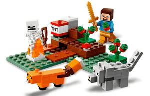 Test et avis sur le Lego Minecraft Aventures dans la taïga 21162