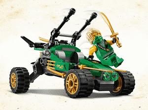 Test et avis sur le Lego Ninjago Le buggy de la jungle 71700