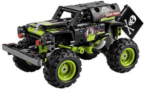 Test et avis sur le Lego Technic Monster Jam Grave Digger 42118