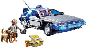 Test et avis sur le Playmobil Retour vers le futur Delorean 70317