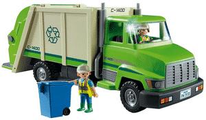 Test et avis sur le camion de recyclage vert Playmobil 5679