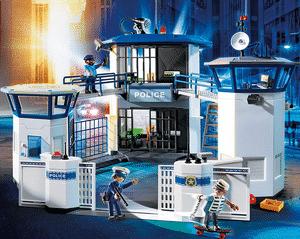 Test et avis sur le commissariat de police avec prison Playmobil 6919