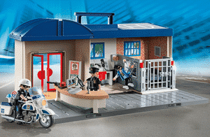 Test et avis sur le commissariat de police transportable Playmobil 5299