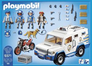 Test et avis sur le fourgon blindé Playmobil 9371