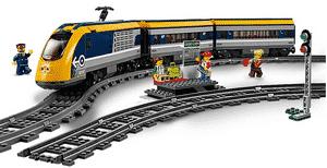 Test et avis sur le train de passagers télécommandé Lego 60197